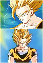 Goku in Super Saiyan 2 Form