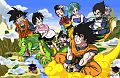 Gohan Goku and Friends